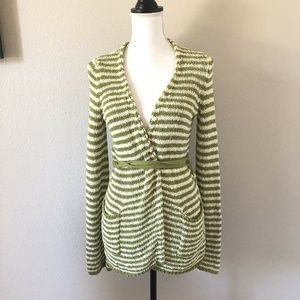 Anthropologie MOTH Belted Cardigan Sweater Wrap